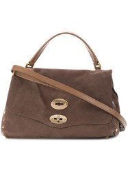 Zanellato Postina Shoulder Bag Brown