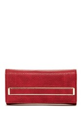 Urban Expressions Katelyn Flap Wallet Red