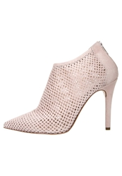 Mai Piu Senza High Heeled Ankle Boots Confetto Rose