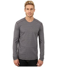 Prana Keller L S Crew Blue Ridge Men's Long Sleeve Pullover