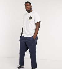 Only And Sons Cropped Chinos In Navy