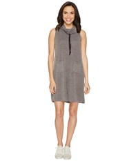 Culture Phit Collette Sleeveless Pocketed Cowl Neck Dress Charcoal Women's Dress Gray