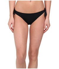 Shoshanna Bow Bottom Black Women's Swimwear