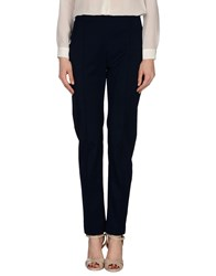 Pierantonio Gaspari Trousers Casual Trousers Women Dark Blue