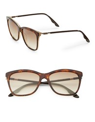 Brian Atwood 55Mm Square Sunglasses Brown Brown