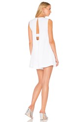 Kendall Kylie A Line Back Romper White