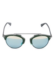 Christian Dior Dior 'So Real' Sunglasses Green
