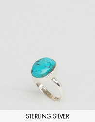 Regal Rose Sterling Silver Lotti Turquoise Ring Silver Turq