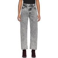 Alexander Wang Grey Curb Jeans