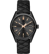 Tag Heuer X Cara Delevingne Special Edition Titanium And Leather Watch
