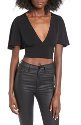 Leith Women's Cape Crop Top