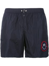 Moncler Friendswithyou Swimming Trunks Men Polyamide Polyester S Blue