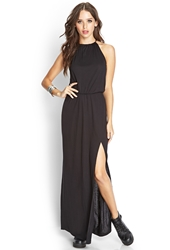 Forever 21 Knotted Maxi Dress Black