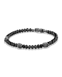 Skull Station Bracelet With Spinel Beads David Yurman