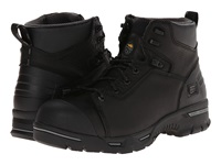 Timberland 6 Endurance Pr Steel Toe Black Micofiber Men's Work Boots Gray