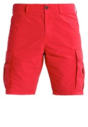 Napapijri Noto Shorts Dark Coral Red