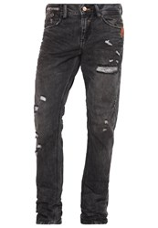 Ltb Fabijan Slim Fit Jeans Lance Wash Destroyed Denim