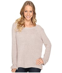 Fate V Back Sweater Sand Women's Sweater Beige