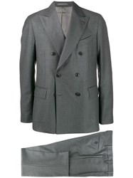 Gabriele Pasini Double Buttoned Suit Jacket Grey