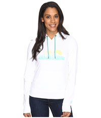 The North Face Nse Sunrise Lightweight Pullover Hoodie Tnf White Heather Women's Sweatshirt Gray