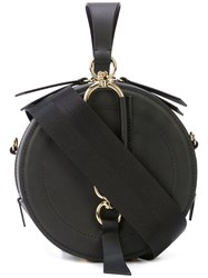Zac Posen Belay Circle Clutch Black