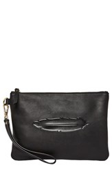 Urban Originals Clutch To Dream Vegan Leather Clutch Black