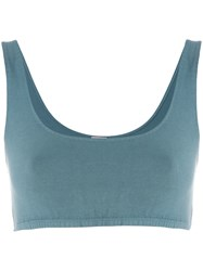 Yeezy Fitted Bralette Top Blue