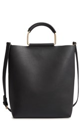 Chelsea 28 Chelsea28 Payton Convertible Faux Leather Tote Black