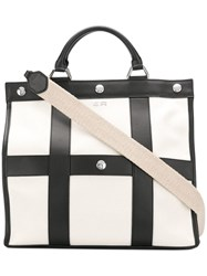 Sonia Rykiel Large Panelled Tote Black