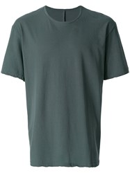 Attachment Boxy T Shirt Grey
