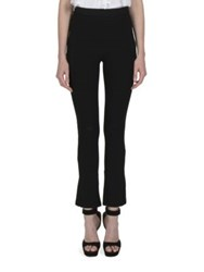 Givenchy Back Zip Detail Cropped Pants Black