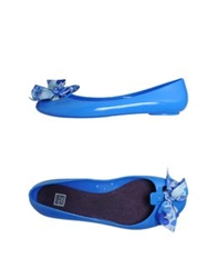Colors Of California Ballet Flats Bright Blue