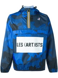 K Way 'Leon' Jacket Blue