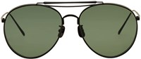 Gentle Monster Black And Green Big Bully Sunglasses