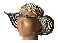 Steve Madden Tribal Floppy Hat Natural Caps Beige