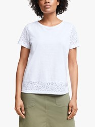 John Lewis Collection Weekend By Daisy Burnt Out Top White