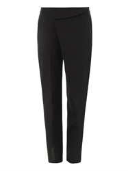 Helmut Lang Pierce Origami Wool Trousers