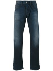 Diesel Stretch Slim Fit Jeans Men Cotton Spandex Elastane 29 Blue
