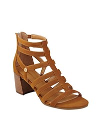 Tommy Hilfiger Cathy Gladiator Sandals Tan