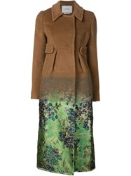 Erdem 'Ramona' Coat Brown
