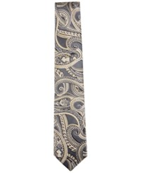 Countess Mara Men's Barton Paisley Classic Tie Yellow