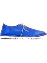 Marsa Ll Round Toe Lace Up Shoes Blue