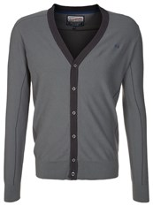 Petrol Industries Cardigan Slate Melee Grey