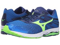 Mizuno Wave Sayonara 4 Skydiver Green Gecko Twilight Blue Men's Running Shoes