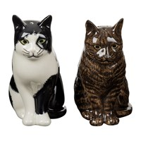 Quail Ceramics Moggy Salt And Pepper Shakers Barney And Clementine