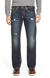 Men's Big And Tall True Religion Brand Jeans 'Billy' Bootcut Jeans Indigo Highlights