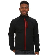 Spyder Linear Full Zip Mid Weight Core Sweater Black Volcano Men's Sweater