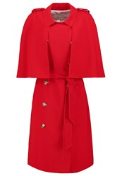 River Island Trenchcoat Red