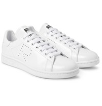 Raf Simons Adidas Originals Stan Smith Leather Sneakers White