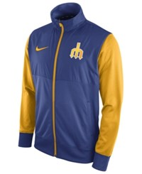 Nike Men's Seattle Mariners Track Jacket 1.7 Royalblue Gold